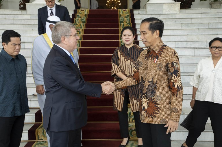 Indonesia submits formal bid to host the 2032 Olympics