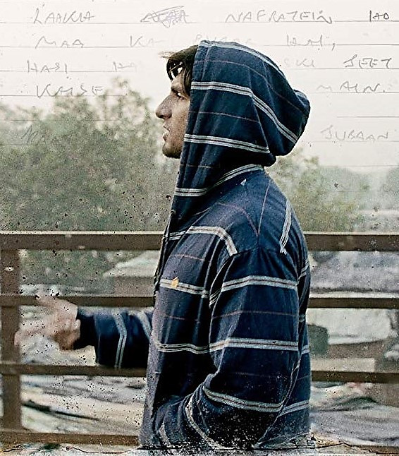 Into rap: Murad Ahmed (Ranveer Singh) lives in poverty with his family but cannot hide his burning desire to become a rapper.
