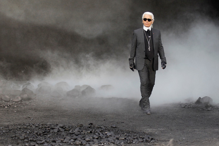 Fashion icon Karl Lagerfeld cremated: Report