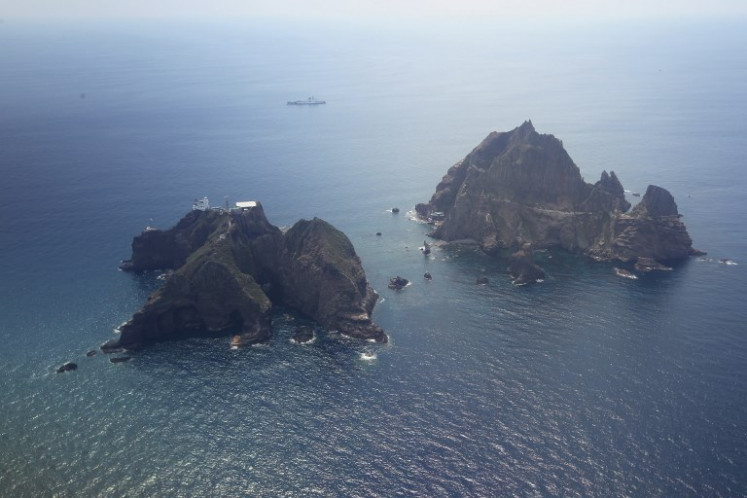 S. Korea collected seabed samples near Takeshima island without Japan's consent