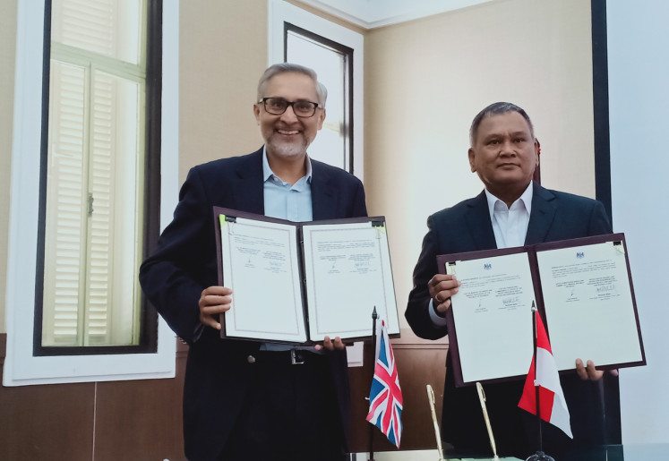 UK pledges $19.5m in grant for clean energy in Indonesia