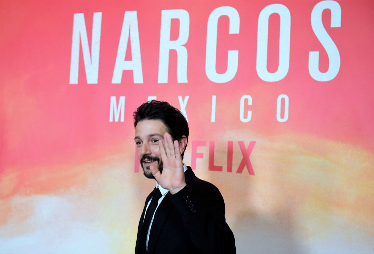 Personal: For actor Diego Luna, playing a figure like drug lord Miguel Angel Felix Gallardo hits home hard.