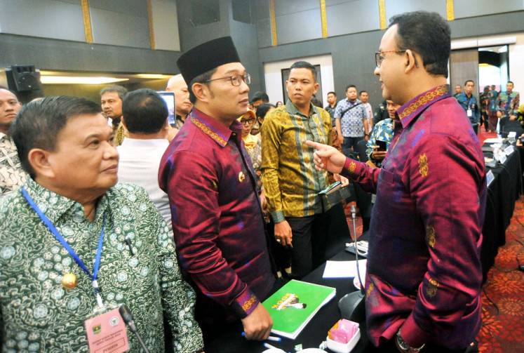 Gerindra, Dems trade barbs over Anies' absence at Bogor post-election gathering