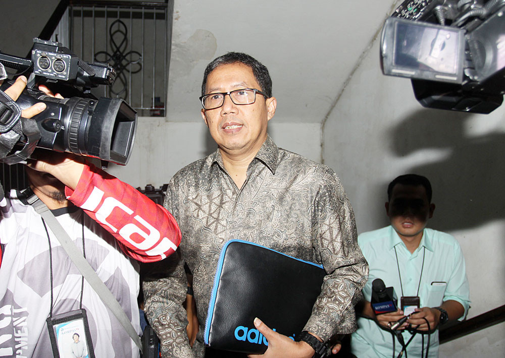 Police detain PSSI acting chief for tampering with evidence