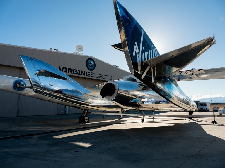 Virgin Galactic moves into spaceport as passenger flights nears