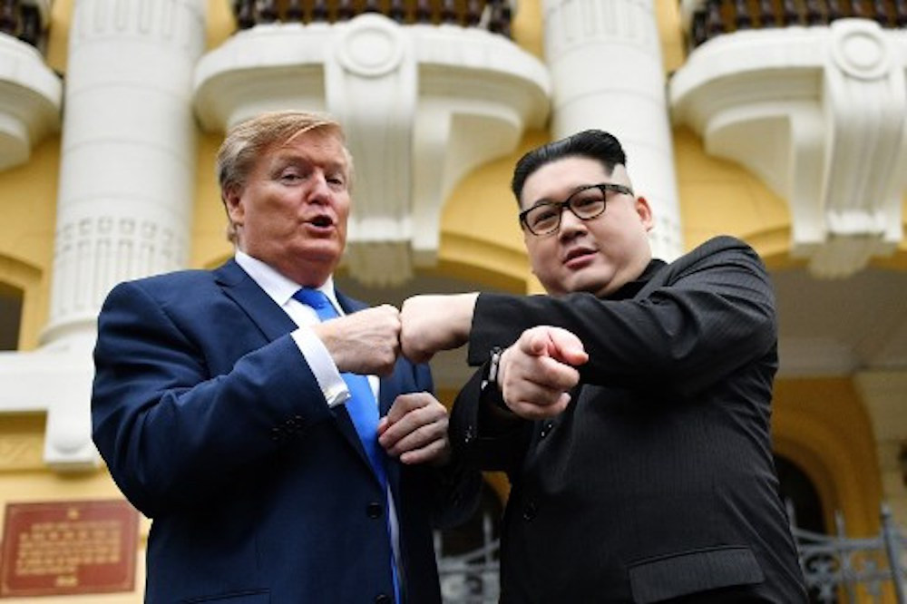 Donald Trump, Kim Jong Un impersonators held for questioning by Hanoi police
