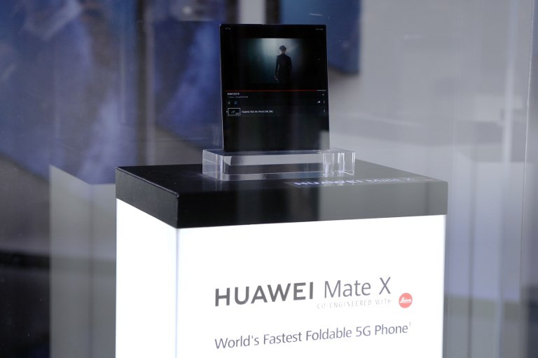 China's Huawei unveils 5G phone with foldable screen