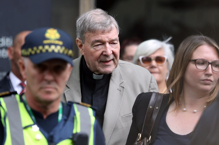 Australian Cardinal George Pell jailed six years for abusing boys