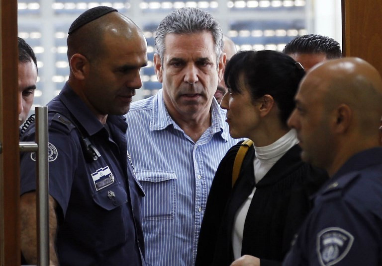 Israel ex-minister sentenced to 11 years for spying for Iran