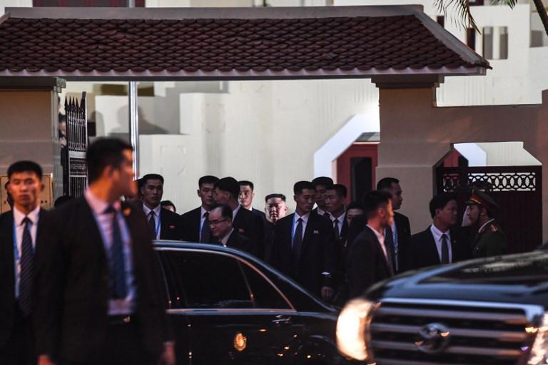 Kim Jong Un visits North Korean embassy in Hanoi