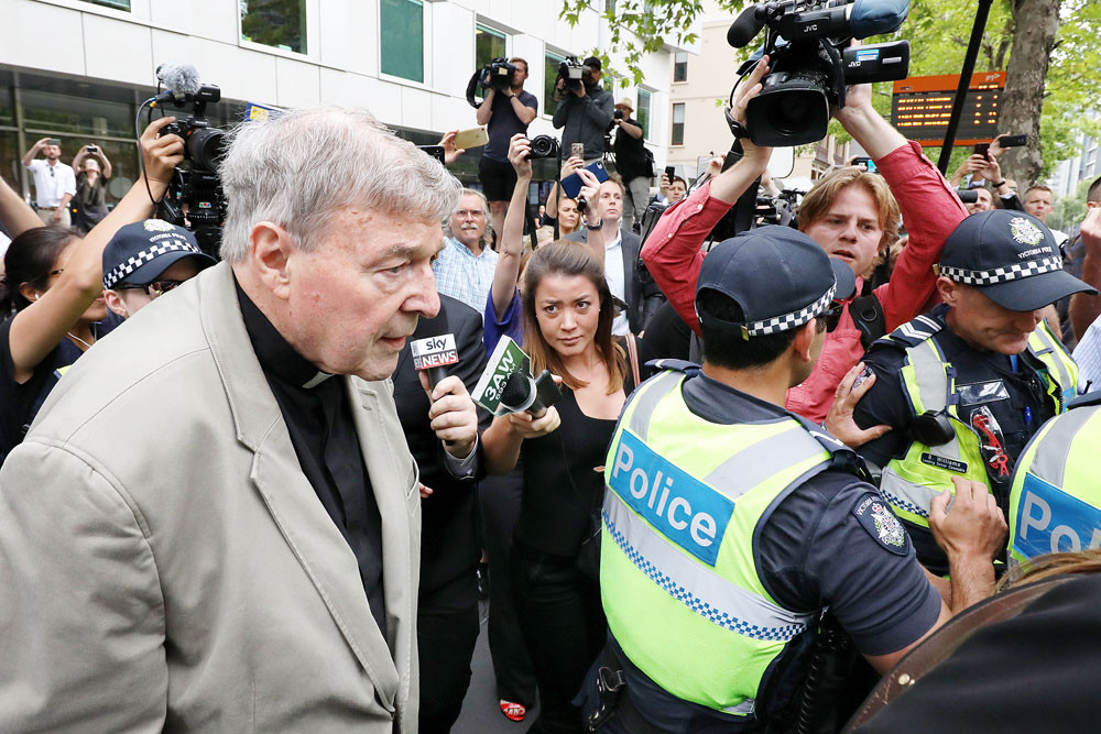Australian prosecutors seek jail for media over Pell's sex abuse trial coverage
