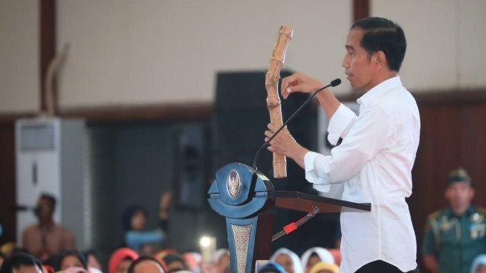 Jokowi blames fake news for electability drop in West Java