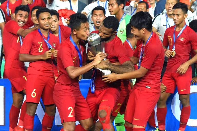 Young Garuda stuns Thailand to win AFF U-22