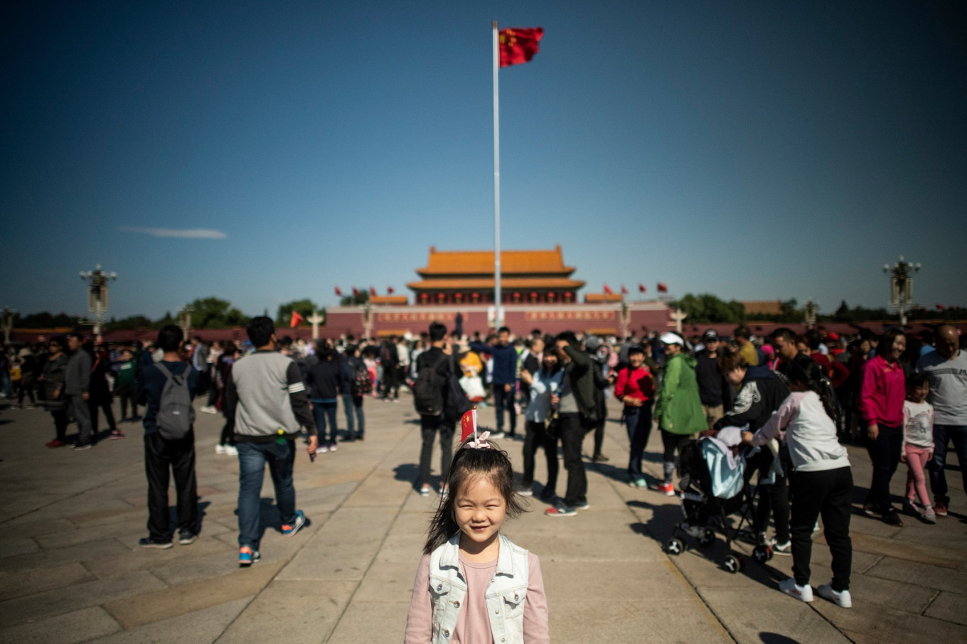 5G services launched in Tian'anmen Square