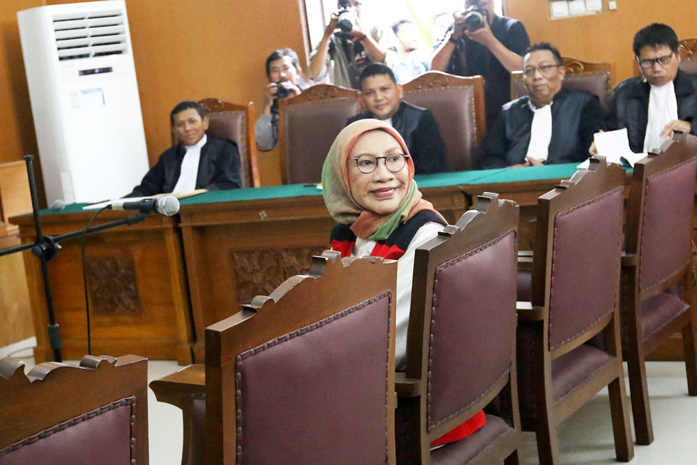 Prosecutors demand 6 years for Ratna Sarumpaet