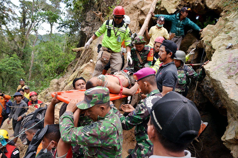 SAR agency ends rescue efforts in North Sulawesi mine collapse