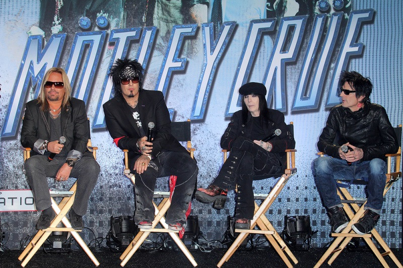 Motley Crue rock biopic: A tale of success, excess and ants