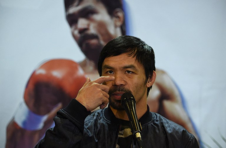 What can we do: Pacquiao lets son chase boxing 'dream'