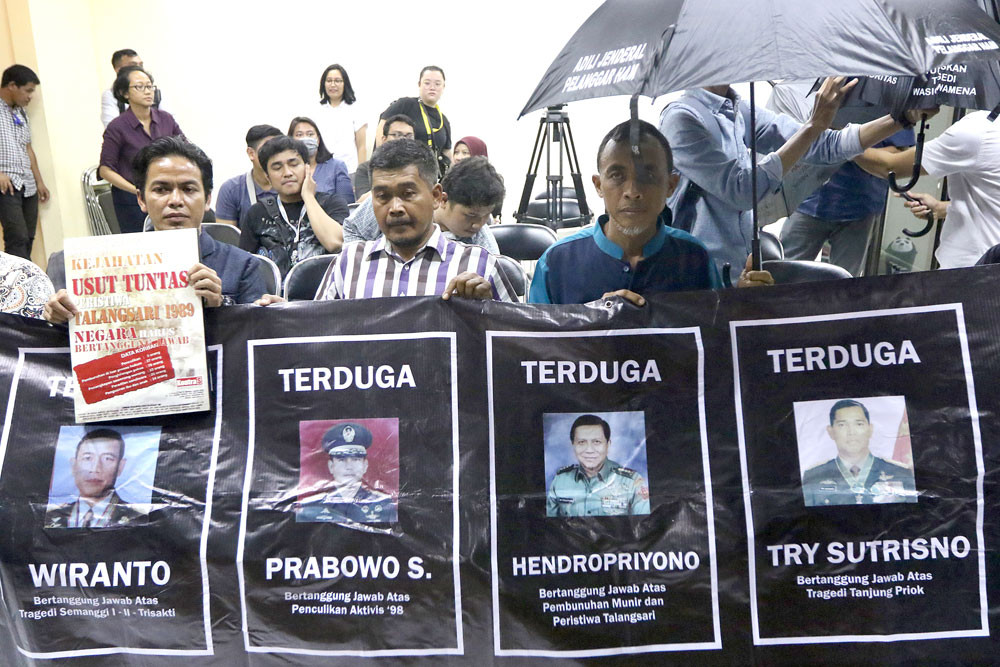 Ombudsman finds maladministration in Talangsari massacre 'peace declaration'