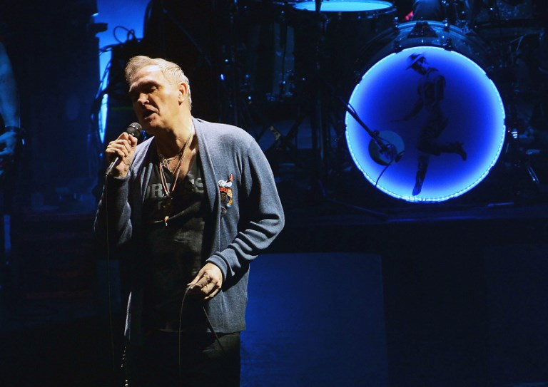 Rights group urges Morrissey boycott over 'racist' views
