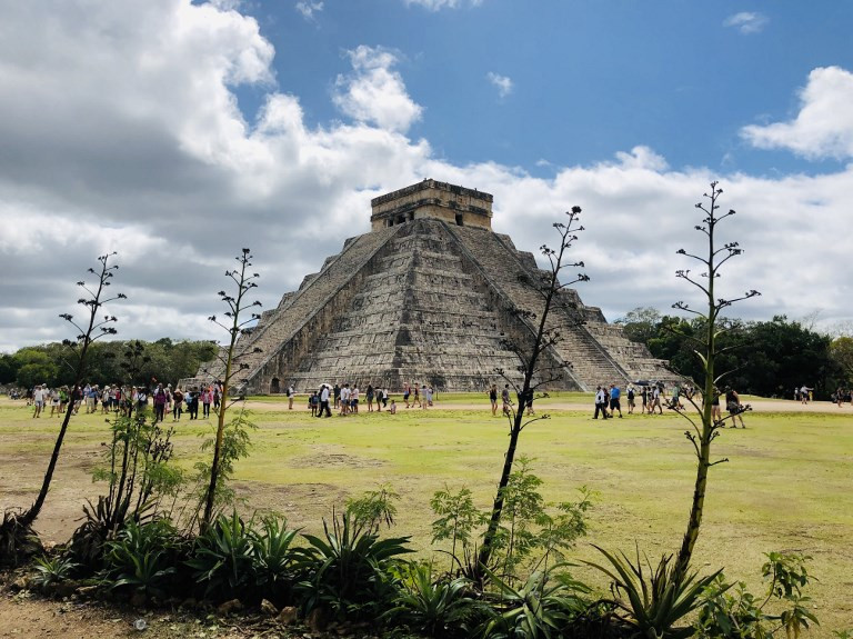 Cave of relics found under Mayan ruins of Chichen Itza