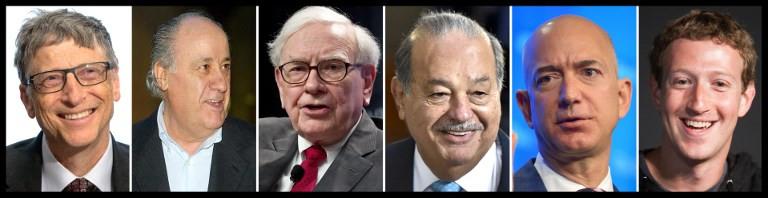 Bezos, Gates and Buffett still top the world's ultra rich: Forbes