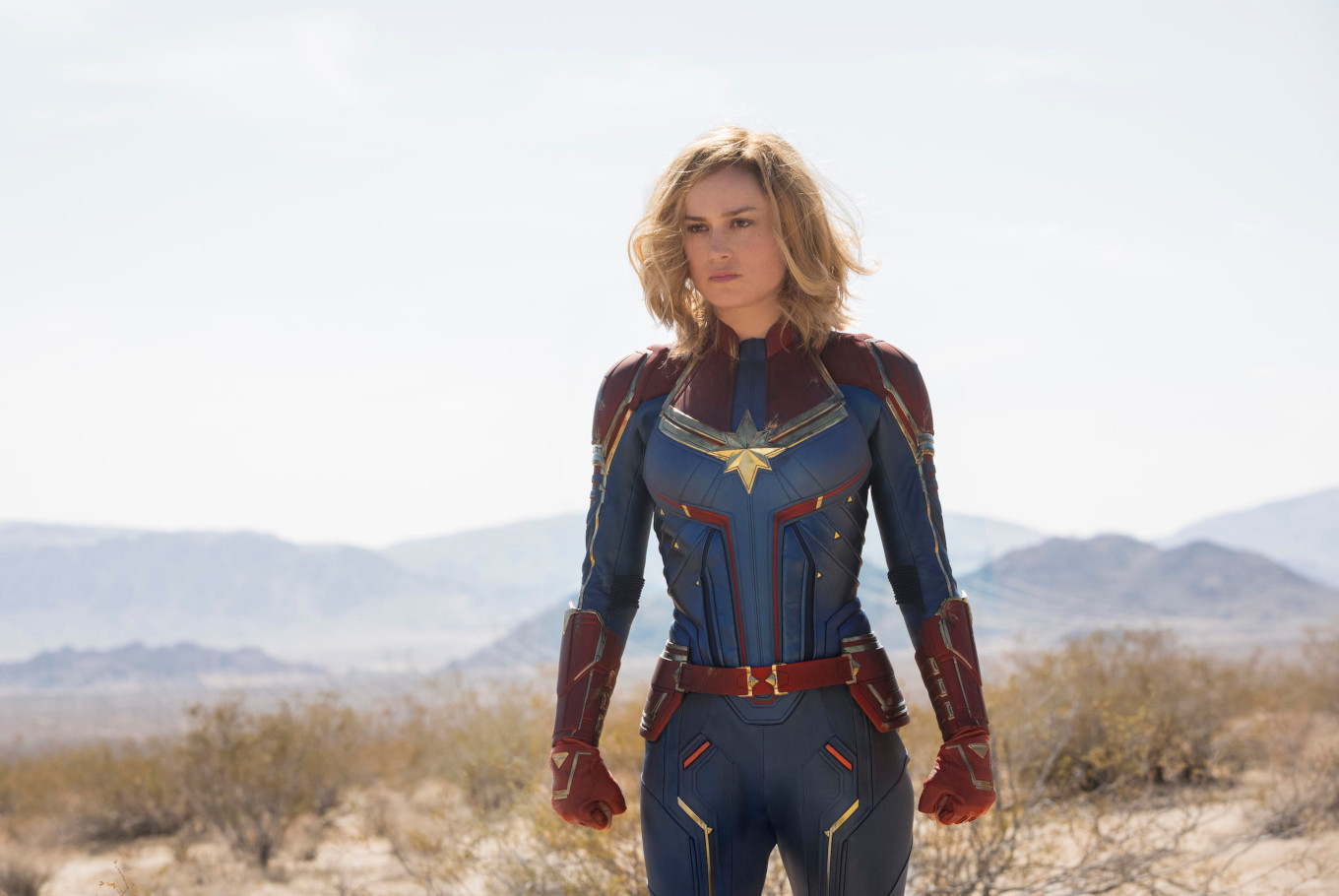 'Captain Marvel' soars to rarefied heights in North American opening
