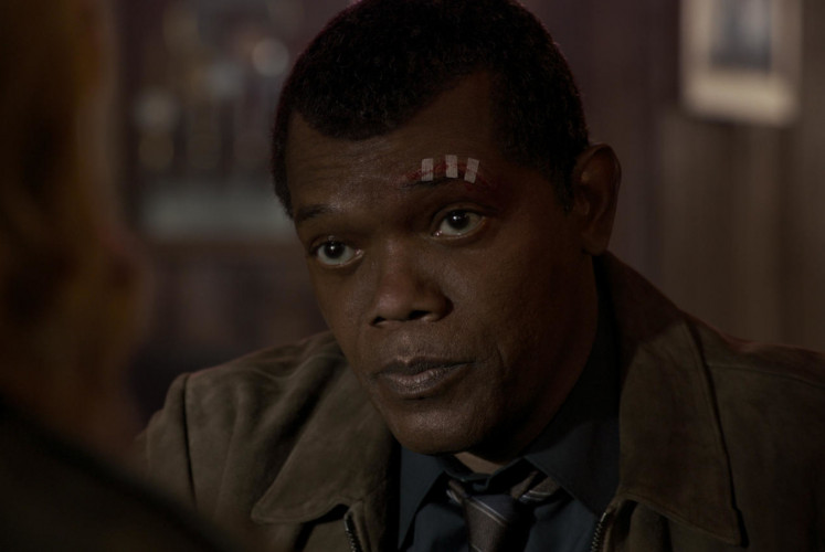 The younger version of Agent Fury (Samuel L. Jackson).