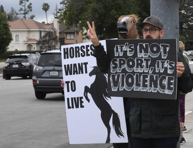 Santa Anita halts racing after 21st horse dies at track
