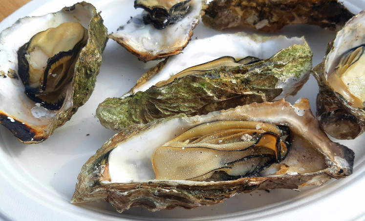 One slurp is not enough: Hiroshima is one of the top producers of oysters in Japan.