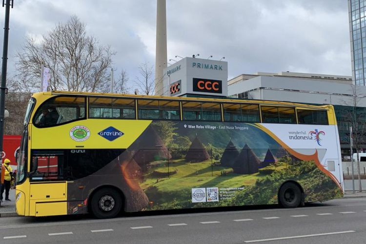 Wonderful Indonesia campaign adorns Berlin buses