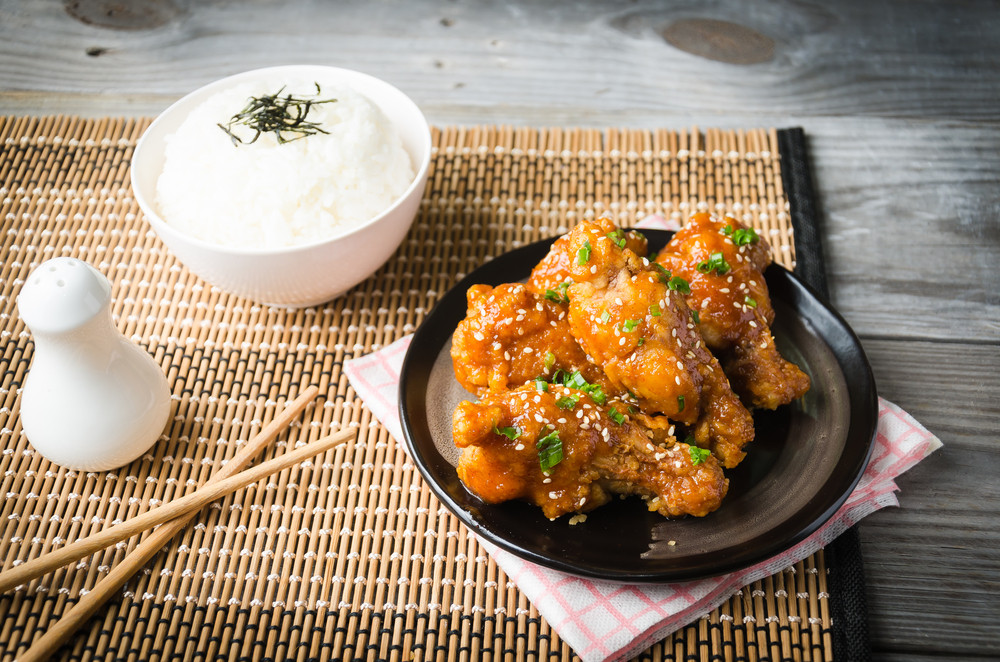 Korea's fried chicken gets sweeter, saltier