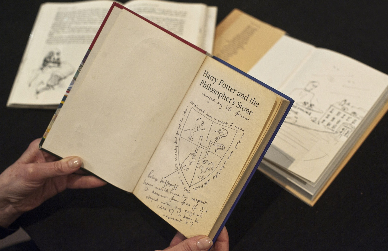 First edition copy of 'Harry Potter and the Philosopher's Stone' could fetch $79,000 at auction