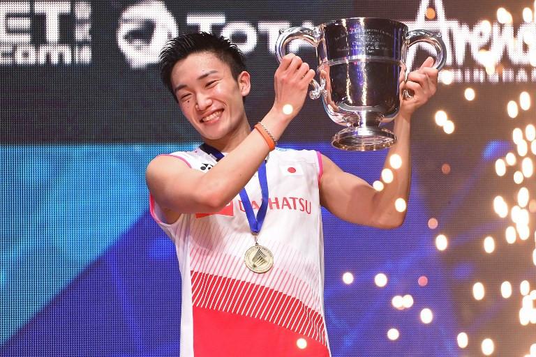 Japan badminton star Momota 'fully recovered' after crash