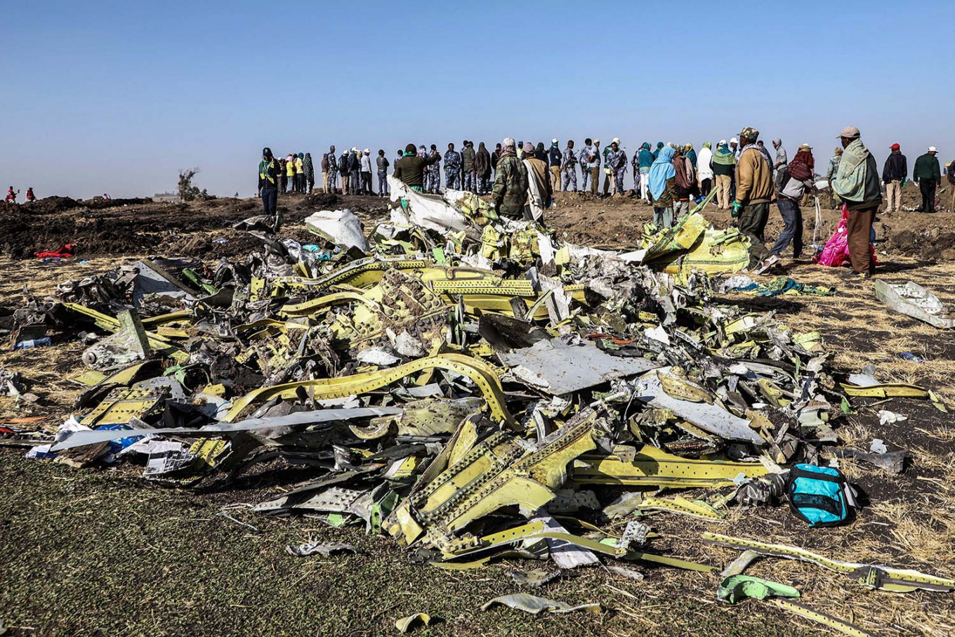 Ethiopian crash investigators find piece of wreckage with similar setting to Lion Air plane: Sources