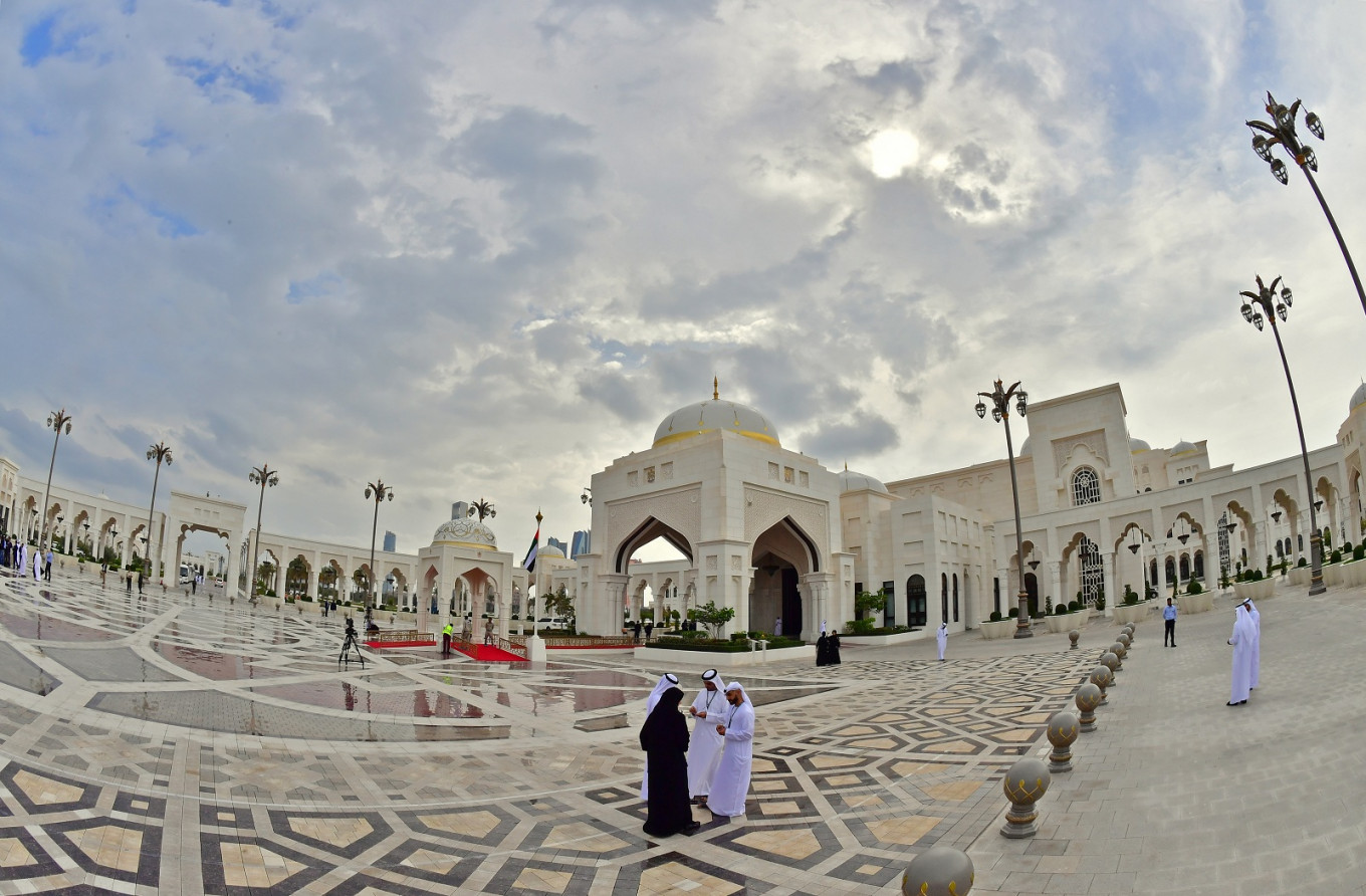 Presidential Palace in Abu Dhabi is now open to the public
