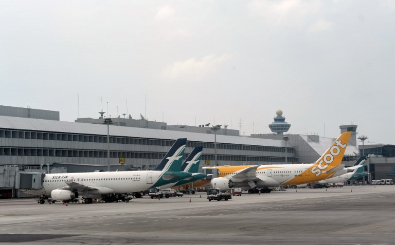Singapore suspends operations of all Boeing 737 Max 8 planes after