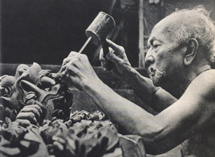 Maestro: Aside from painting and sculpting, I Gusti Nyoman Lempad was also known for his designs of traditional Balinese buildings and talent for crafting ritual objects.