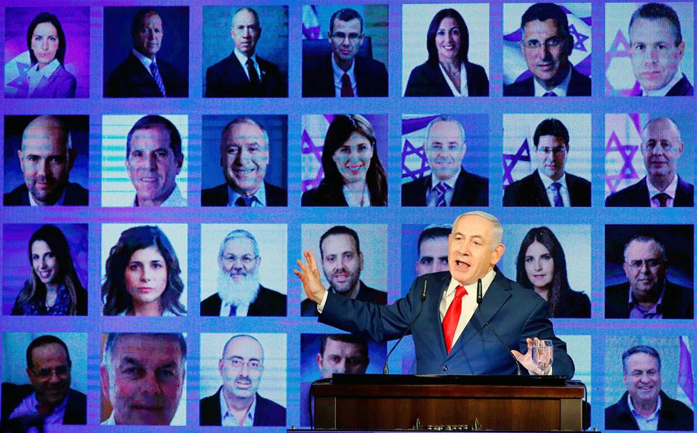 Netanyahu projected to win Israeli election