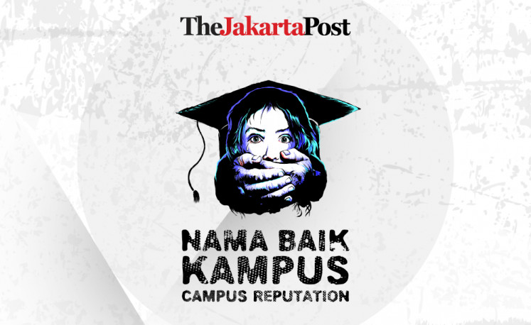 Sex abuse on campus, #NamaBaikKampus