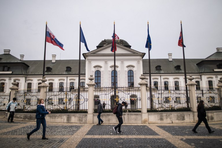 Slovakia presidential vote's top five candidates