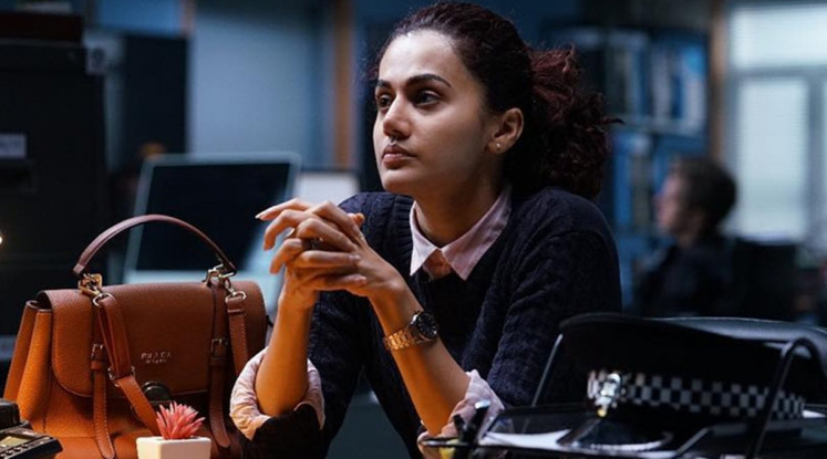 In turmoil: Young entrepreneur Naina Sethi (Taapsee Pannu) finds herself in legal turmoil after she is found in a hotel room with the corpse of her dead lover.