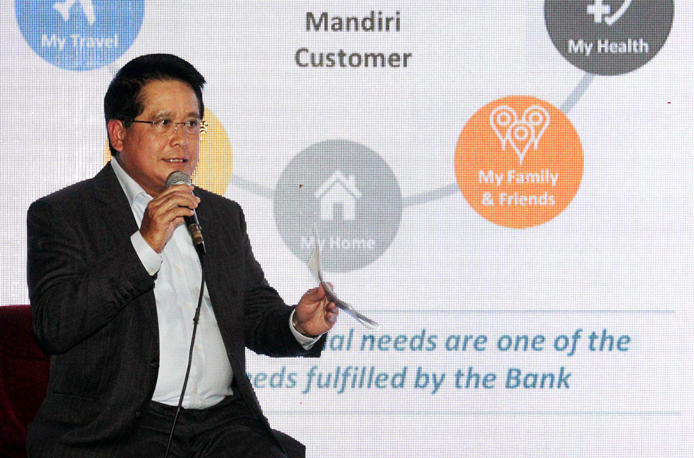 Bank Mandiri books net profit of Rp 13.5 trillion in H1