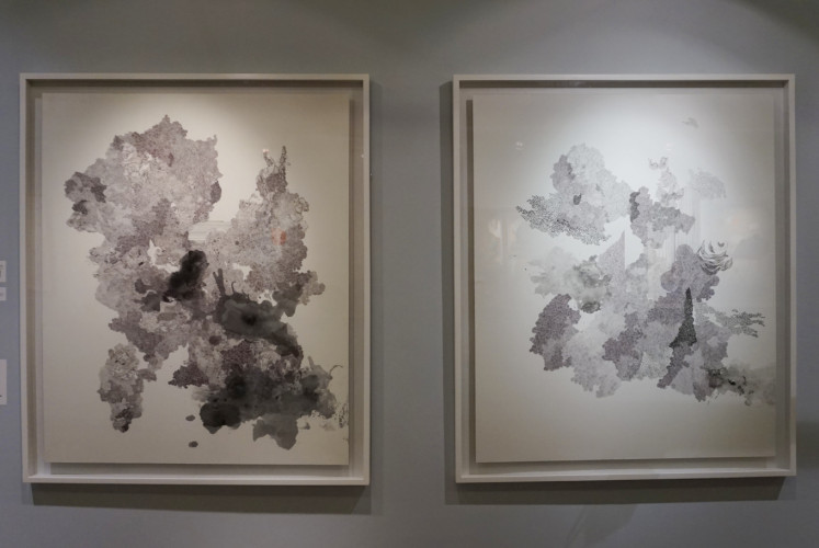 'Fragments of Sobriquet' by Rega Ayundya, featured at 'Reinventing Eve' exhibition