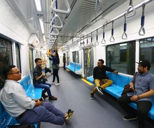 MRT Jakarta targets 285,600 passengers in public trial run