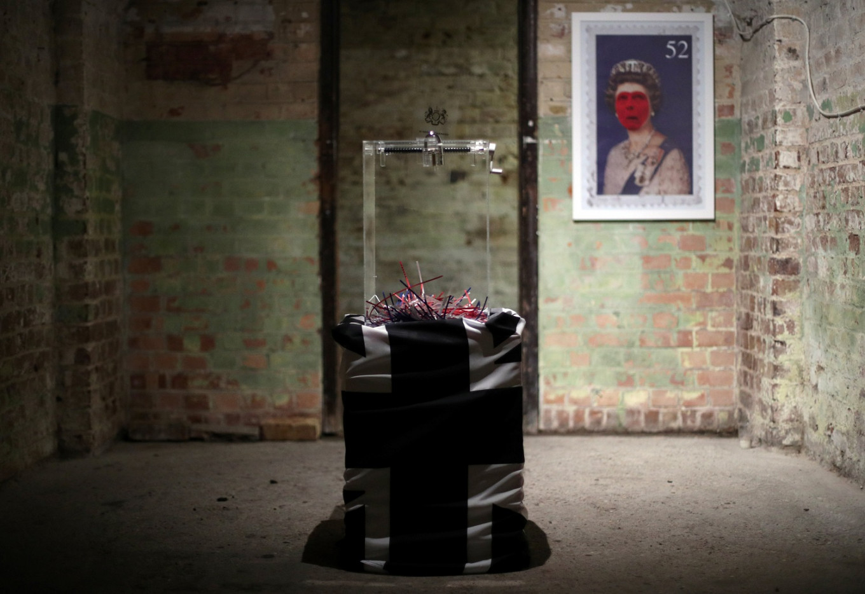 It's not Brexit (yet), but is it art, asks new London show