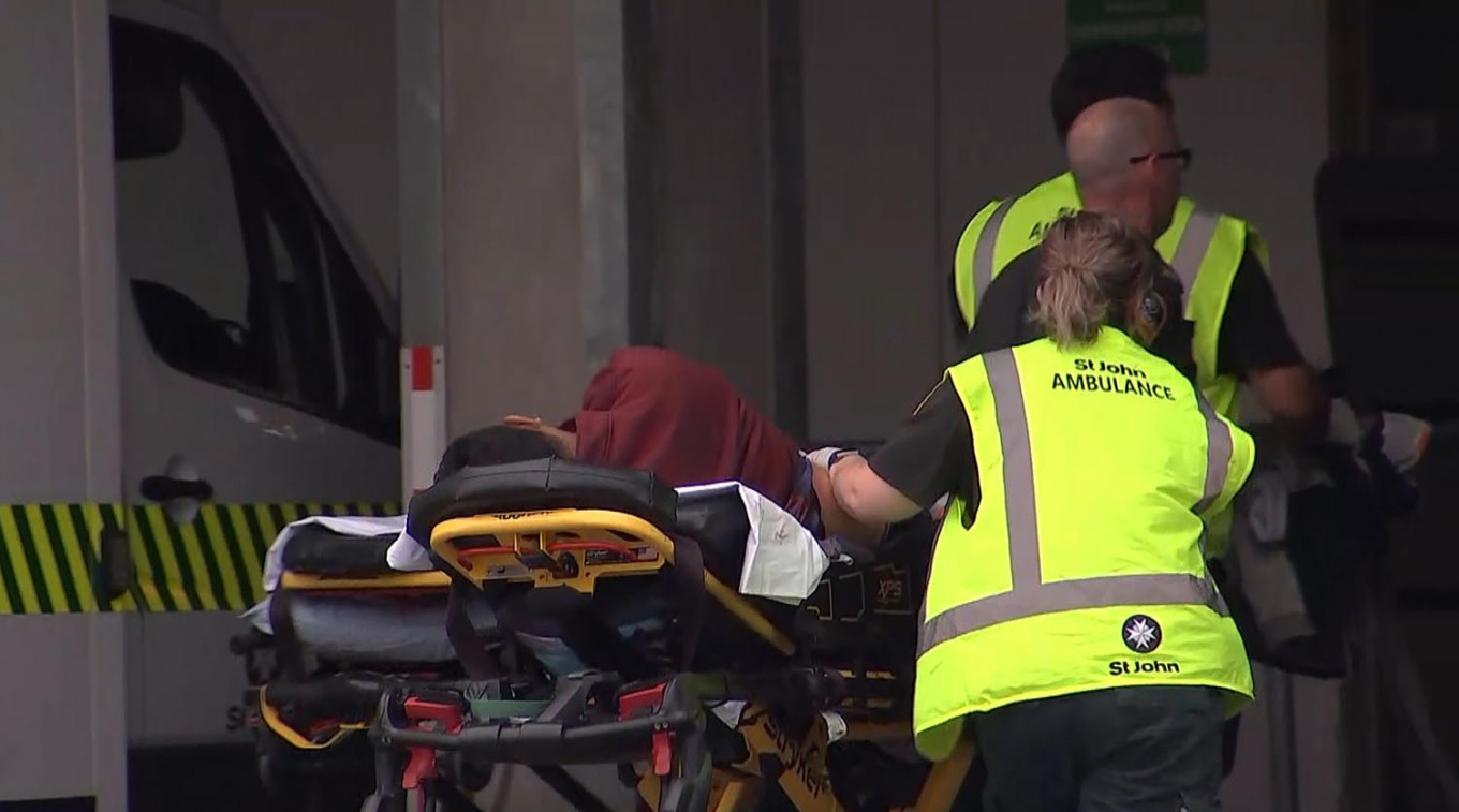 New Zealand police warn of 'distressing' mosque shooting footage