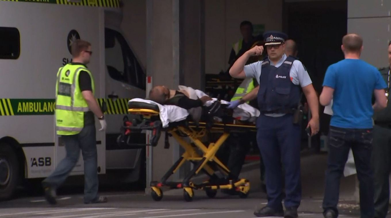 At least 49 killed in terror attacks on Christchurch mosques