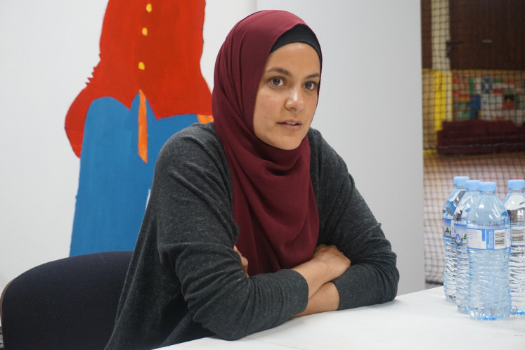 Standing strong: Australian-Egyptian Assmaah Helal is a professional soccer player. She is also the program operations manager for Football United and Creating Chances, two organizations that focus on youth development, mainly for refugees.