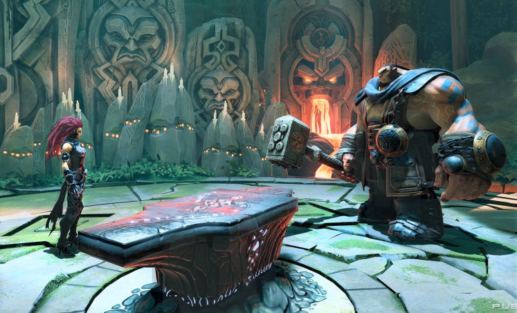Face to face: The level designs are good, but look practically the same as they did in the last Darksiders title.